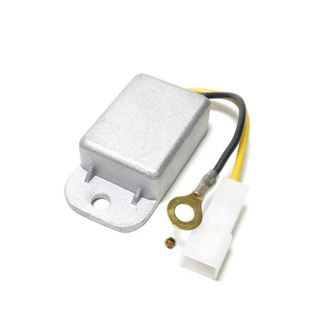 6 volt 30w voltage regulator with black and yellow wires