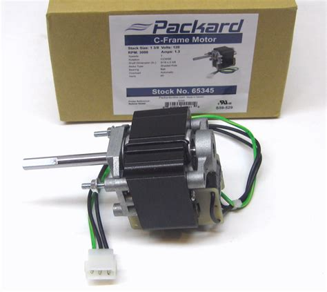 bathroom vent motor packard 65345 motor for nutone vent bathroom exhaust fan