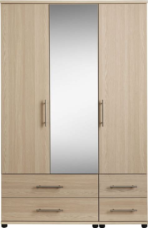 Three Door Wardrobe by Mirror Design Ideas Three Door Wardrobe With Mirror On Tiger Direct And Walmart For Home