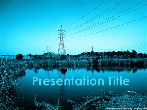 Free Power Grid Powerpoint Template Download Free Powerpoint Ppt Energy Powerpoint Templates