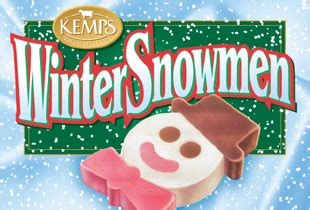 seasonal winter snowmen 6 pack kemps