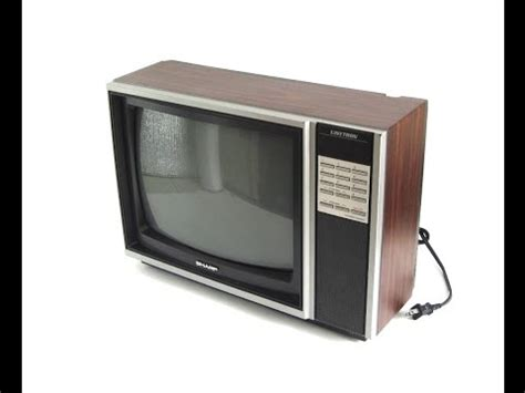 Tv Sharp Model Tabung 1980s sharp linytron tv demo crt television set model 13mm57 apex digital converter dt250