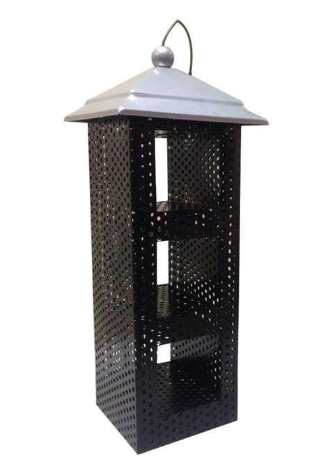 hanging wild bird feeder metal sunflower seed feeder pet