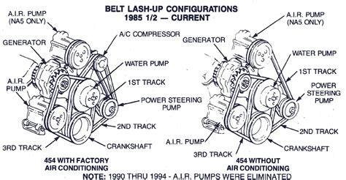 1989 Chevy Silverado Serpentine Belt Diagram