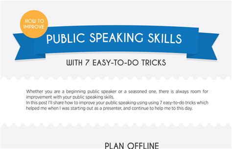 how to a to do tricks infographic how to improve speaking skills with 7 easy to do tricks