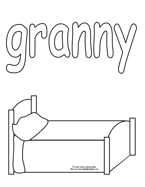 coloring pages for the napping house 100 day activities all about me