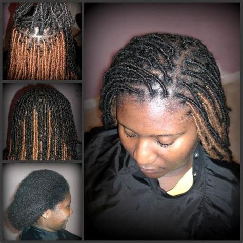pre dreaded hair extensions dreadlock extensions before and after lauderdale