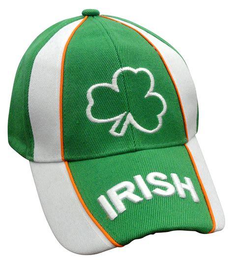shamrock tri color adjustable baseball hat