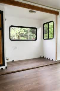 Room Over Garage Design Ideas tips to replace the flooring inside a rv slide out