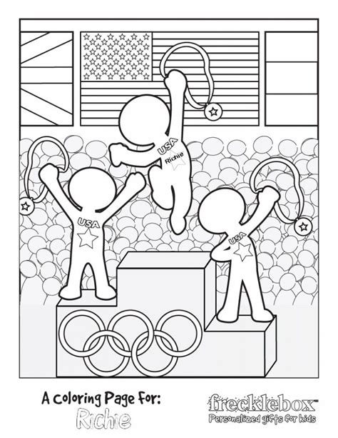 olympic coloring sheets free personalized olympic coloring sheet kid ideas