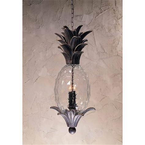 Pineapple Pendant Light Triarch International 75107 11 Exterior 2 Light Pineapple Outdoor Pendant In Bronze