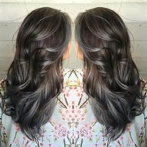 pewter hair color best 25 gray highlights ideas on gray hair