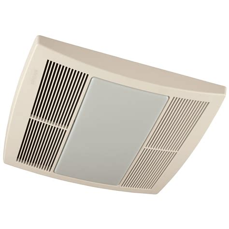 broan ventilation fan with light broan qtr110l ultra silent bath fan 110 cfm white grille