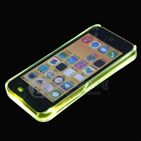 Sense Hardcase Iphone X sense paintable coil led flash light cover for