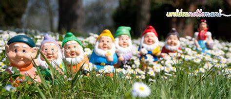 7 nani da giardino sette nani nel giardino