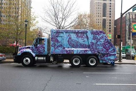 truck philadelphia graphic garbage trucks philadelphia mural arts program
