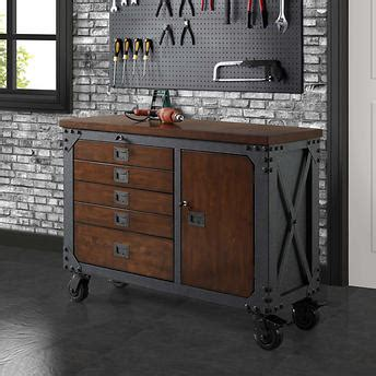 costco work bench whalen 48 quot metal and wood workbench garage pinterest