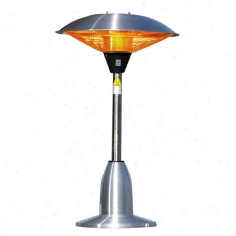 sense stainless steel patio heater with adjustable table koolatron 4 6 cu ft comressor based refrigerator black