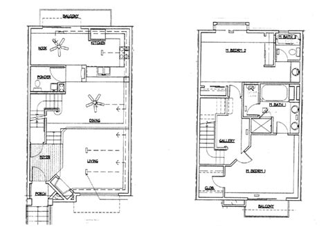 home plans with photos of interior lane homes