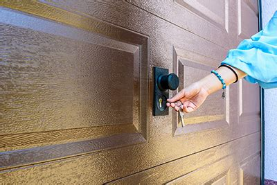 garage door lock     garage  secure