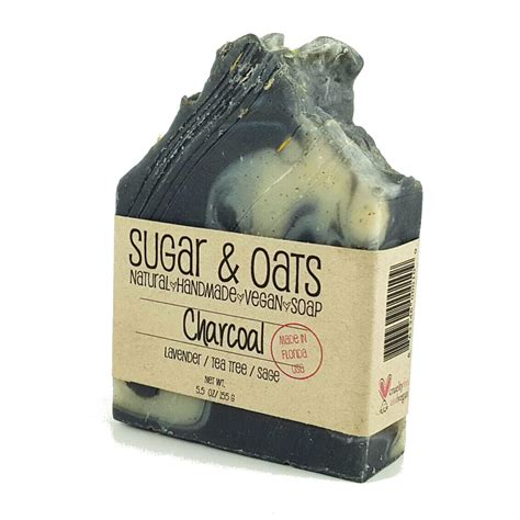 Detox Charcoal Wash Lavender by Charcoal Vegan Detox Soap