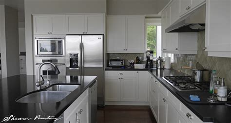 seattle kitchen cabinets seattle painted kitchen cabinets shearer painting