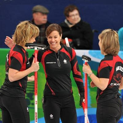 hot female olympic curlers photos vancouver 2010 olympic curling semifinals