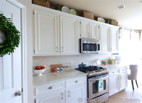 White Or Cabinets by The Moment You Ve Been Waiting For Our White Kitchen