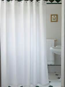 Linen Shower Curtain White by And White Photo Shower Curtain