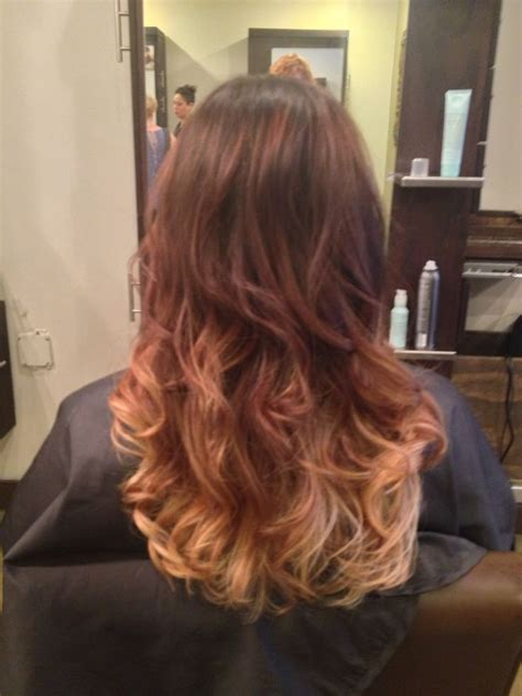 brunette to blonde ombre images my hair brown to blonde ombre highlights hair