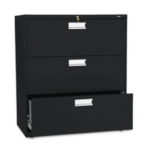 Hon 3 Drawer Lateral File Cabinet by Hon Black 3 Drawer Lateral File Cabinet Allsold Ca Buy