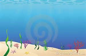 ocean floor cartoon