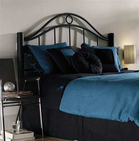black metal headboard king arched metal headboard in black finish w dramatic design