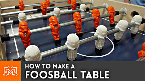 How To Make A Foosball Table by How To Make A Foosball Table With 3d Printing I Like To