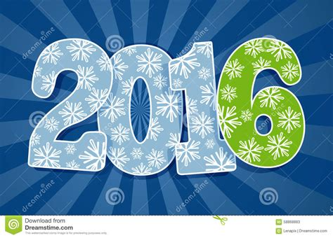 new year 2016 paper cutting template new 2016 year cut paper figures stock vector image 58868883