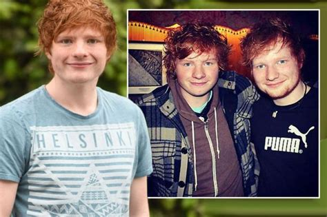 ed sheeran family ed sheeran lookalike reveals being singer s doppelganger