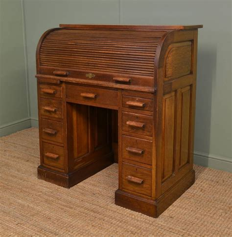 Antique Roll Top Desk Prices oak edwardian antique roll top desk 258251 sellingantiques co uk