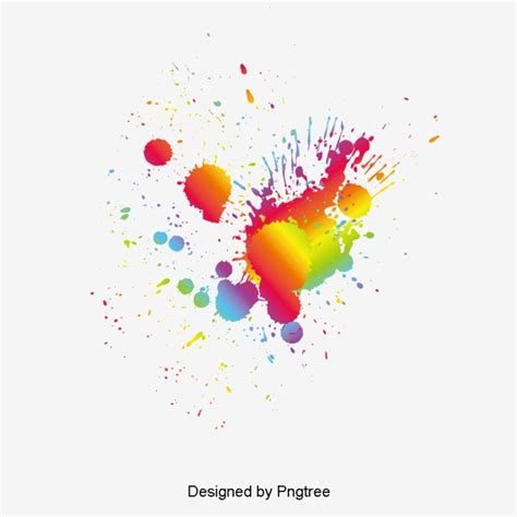 splash color color splash fashion vector color png and psd file for