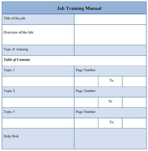Blog Posts Uploadtoronto The Trainer Manual Template