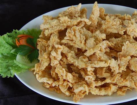 resep membuat jamur crispy sederhana resep cara membuat jamur crispy gurih renyah resep harian