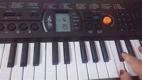 tutorial on keyboard vande mataram on keyboard casio easy tutorial for