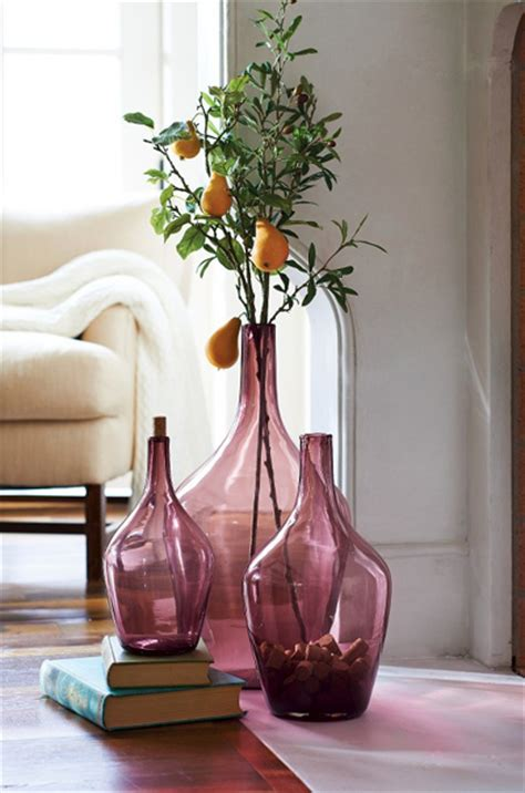 Purple Floor Vases by Purple Vases Decor By Color