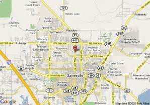 map of gainesville florida neighborhoods pictures to pin