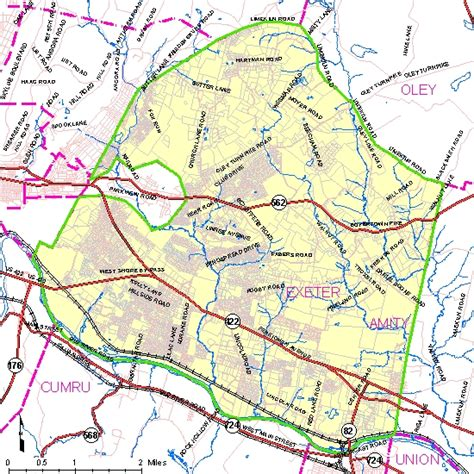 printable map exeter exeter township