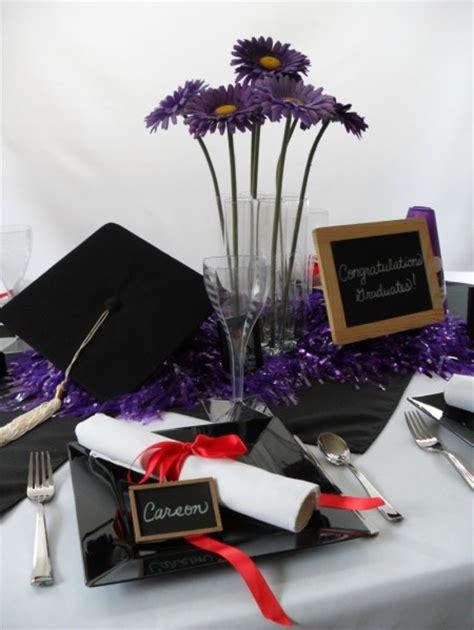 Graduation Table Decorations by Graduation Centerpieces Favors Ideas