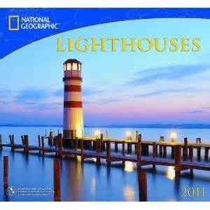 8 Great Wall Calendars by National Geographic Lighthouses 2011 Wall Calendar 8