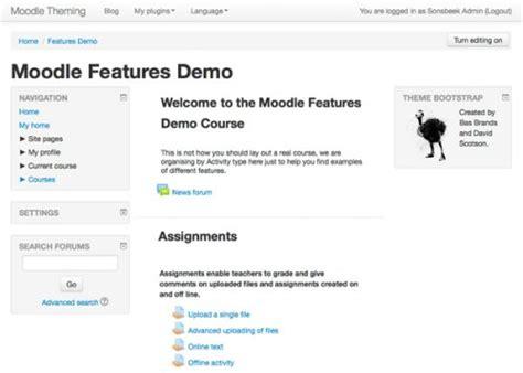 theme essential moodle 2 7 moodler highlights the state of themes for moodle 2 7