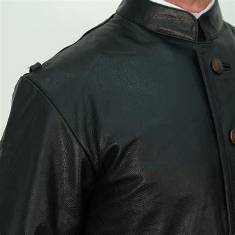 german black leather u boat jacket german naval u boat leather jacket