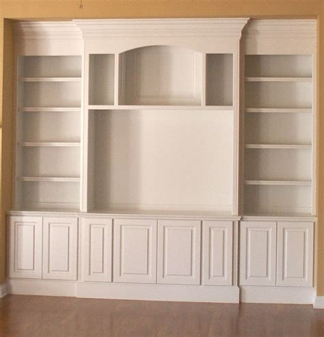 built in shelving units built in cabinet ideas homesfeed
