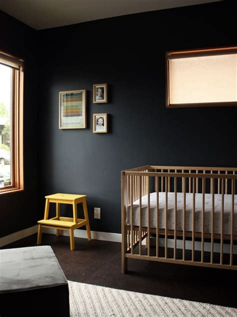 black trim bedroom home dzine fade to black decorating with black